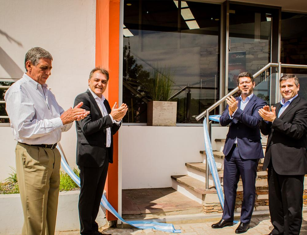 Switchgear Industrial Premises were inaugurated on February 9, in Buenos Aires, Argentina.