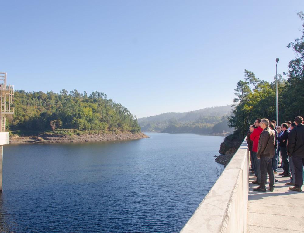 Engenharia promove visita técnica a barragem de Ribeiradio-Ermida