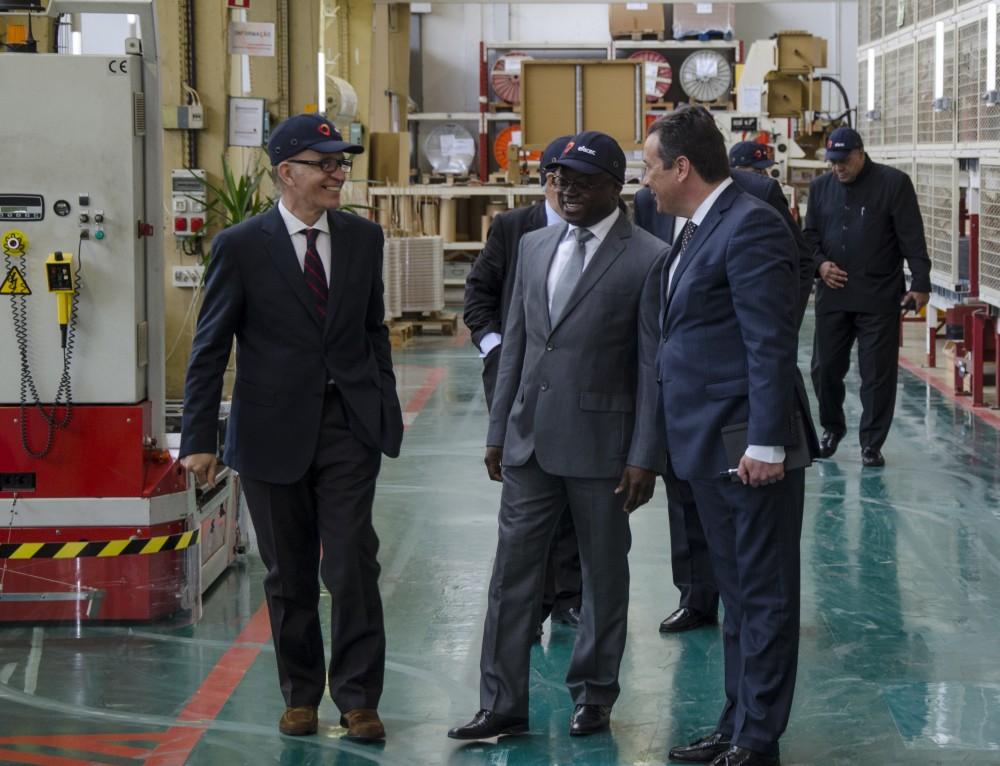 Delegação da Guiné-Bissau liderada pelo Senhor Ministro da Energia e das Águas visita Efacec