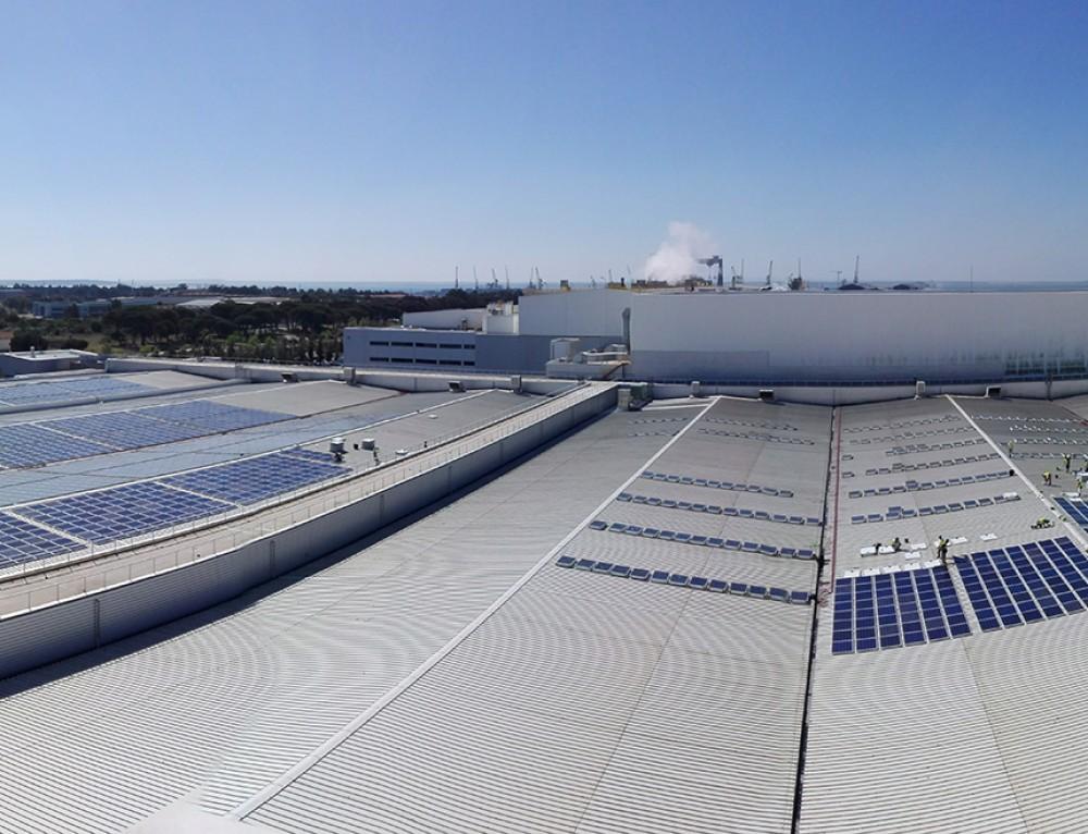Efacec constrói em Portugal a maior central solar fotovoltaica em ambiente industrial