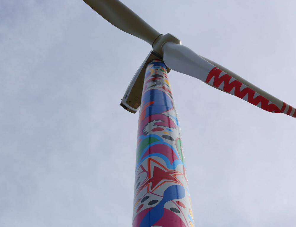 Efacec na arte do vento