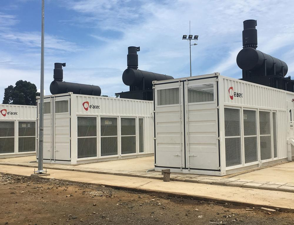 A Central térmica são-tomense – Sto. Amaro 2  exportou para a rede elétrica mais de 12 GWh, em apenas sete meses