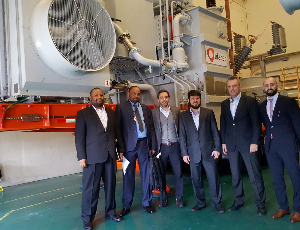 Transformadores da Efacec na lista restrita de fornecedores da Qatar Electrical Grid