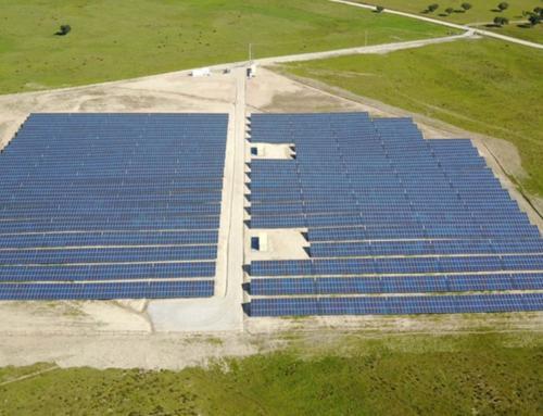 Efacec na construção da Central Solar Fotovoltaica em Évora