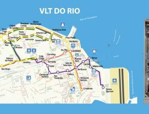 Metro Léger de Rio de Janeiro avec technologie Efacec