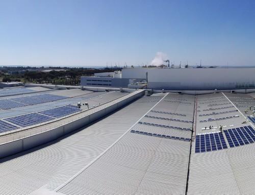 Efacec construit au Portugal la plus grande centrale photovoltaïque en environnement industriel