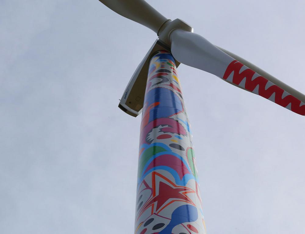Efacec dans l'art du vent