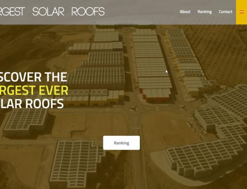 We are in the TOP 15 Largest solar rooftops