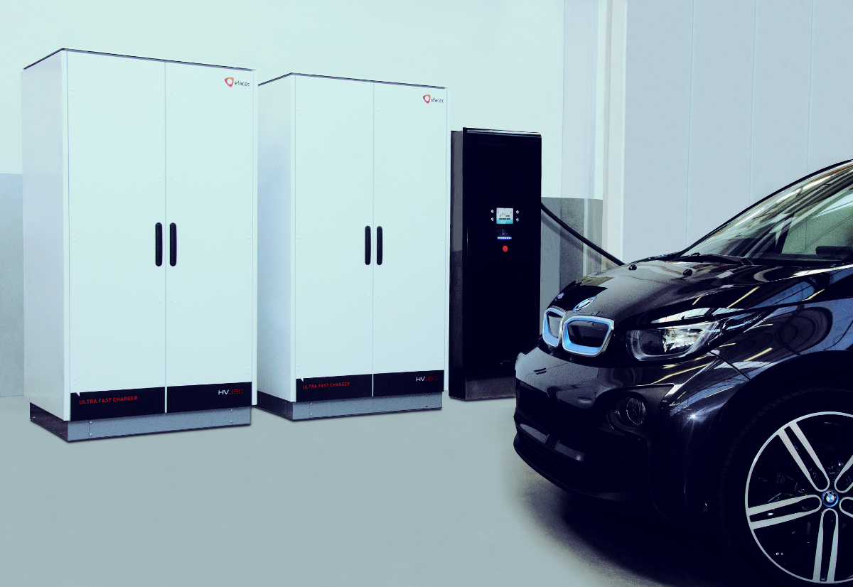 Efacec first projects of high Power EV charging Solutions up