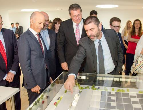 European Comissioner for Energy Visits Efacec's Electric Mobility Unit
