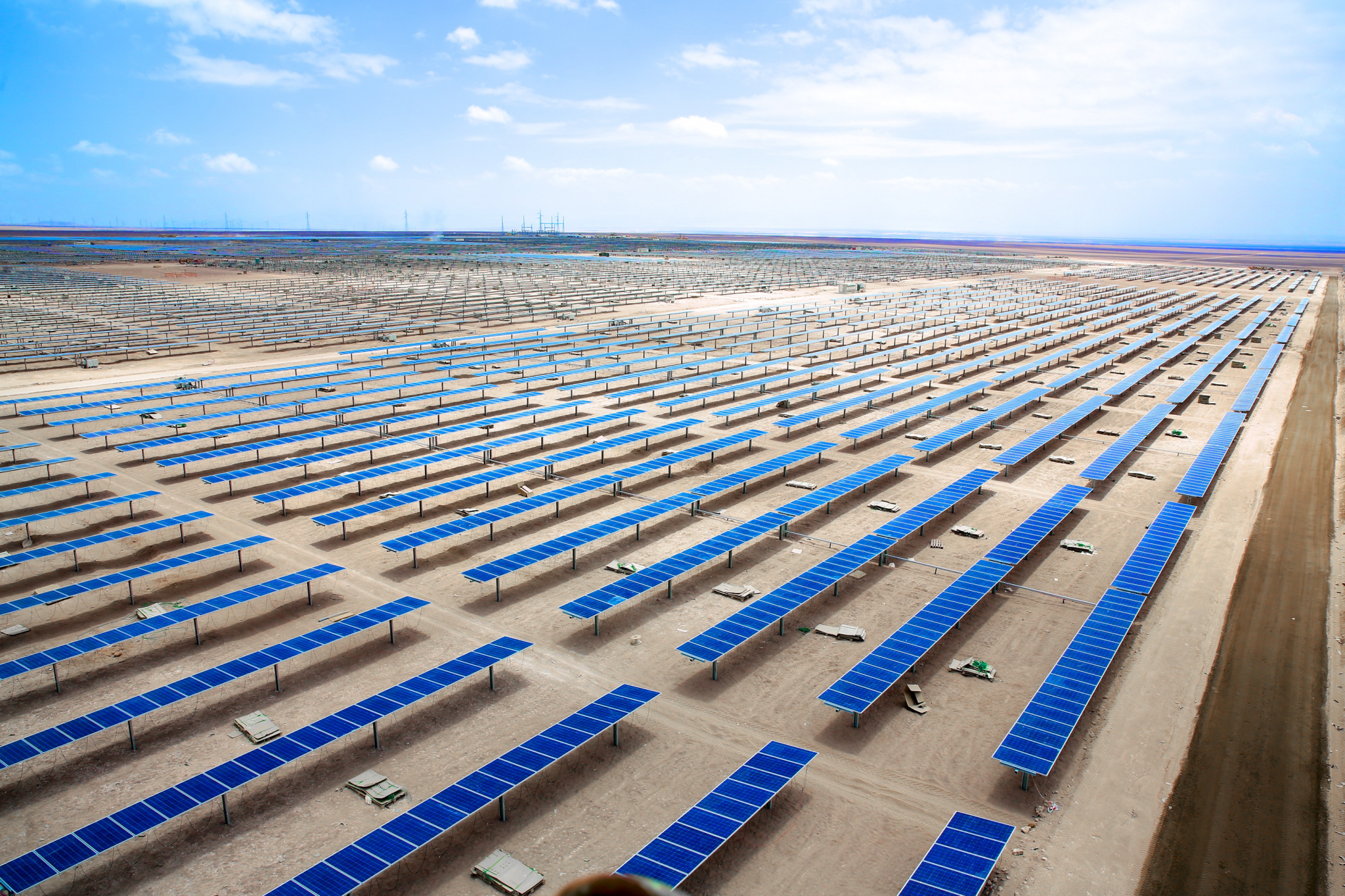 Efacec builds solar power plant in Chile | Efacec