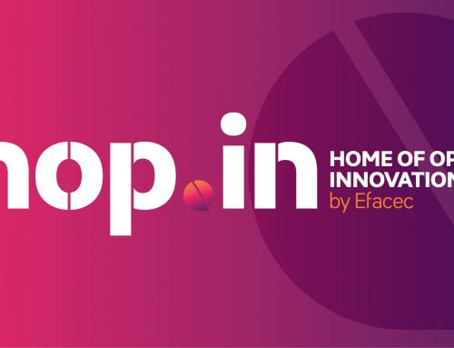 Efacec promotes collaborative crowdsourcing for entrepreneurs through the new hop.in platform
