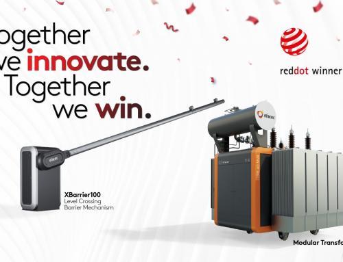 Efacec awarded two Red Dot Design Award