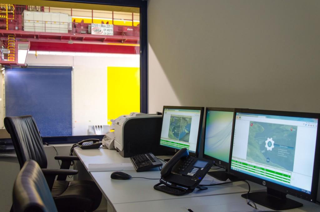 Centro Comando - Barragem de Ribeiradio