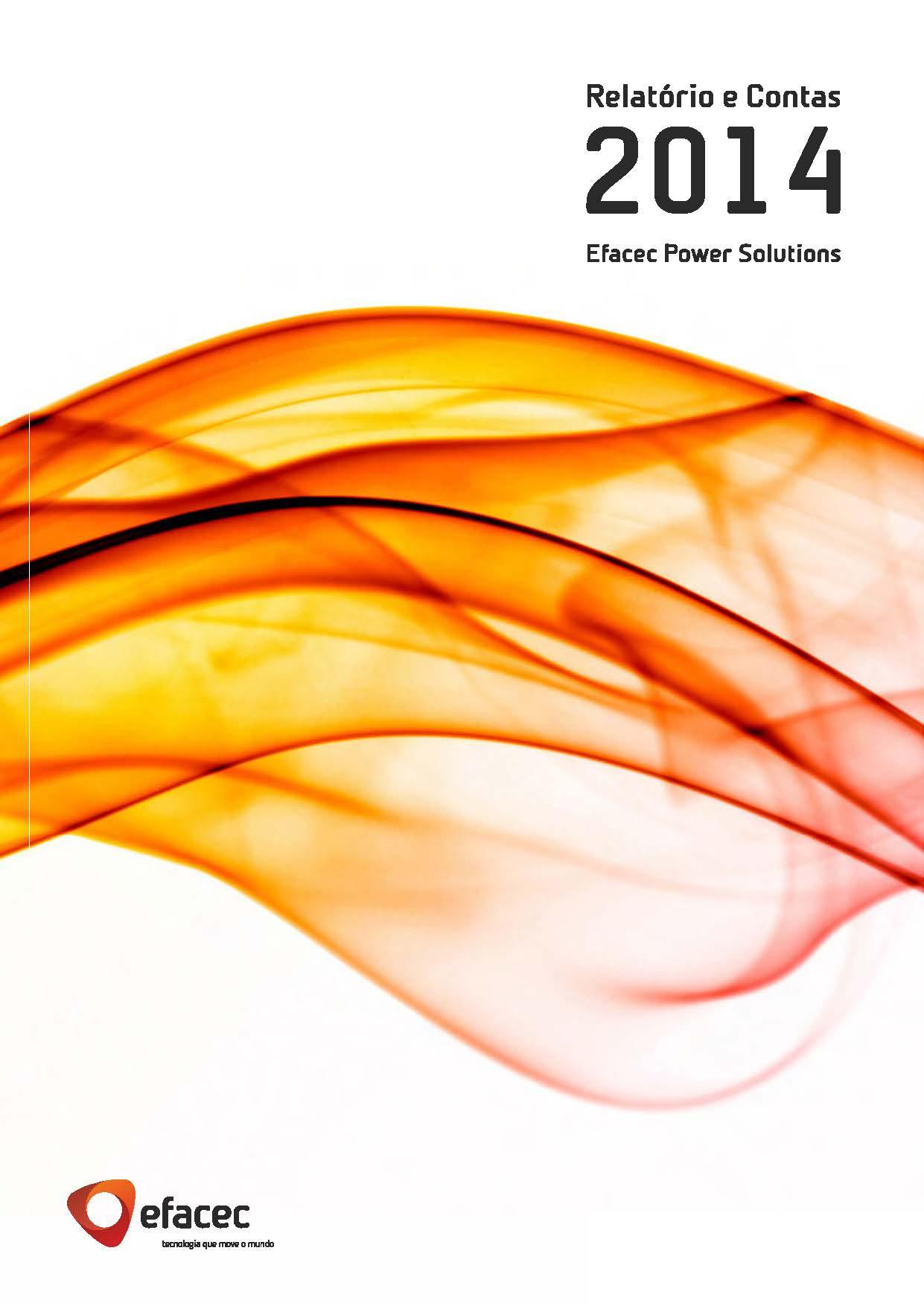 Relatório e Contas 2014 - Capa