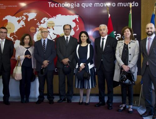 Efacec recebe visita da Senhora Embaixadora dos Emirados Árabes Unidos