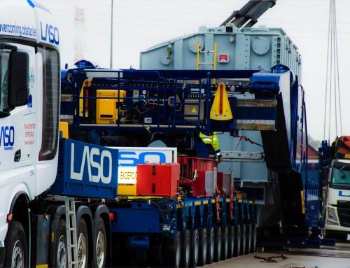 Efacec transporta os mais pesados Transformadores Trifásicos até hoje fabricados em Portugal