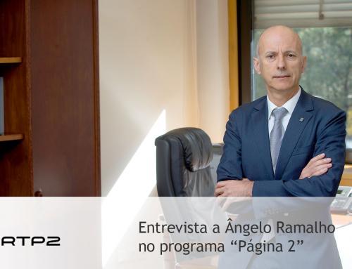 """Entrevista a Ângelo Ramalho, ao programa """"Página 2"""", RTP2"""