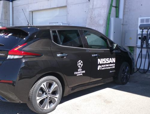 """Efacec """"carrega"""" veículos elétricos na final  da Liga dos Campeões em Madrid"""