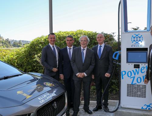 Efacec instala primeiro carregador ultrarrápido para veículos elétricos no Mónaco