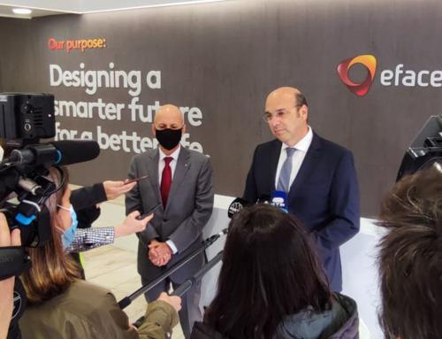 Ministro de Estado, da Economia e da Transição Digital visitou a Efacec