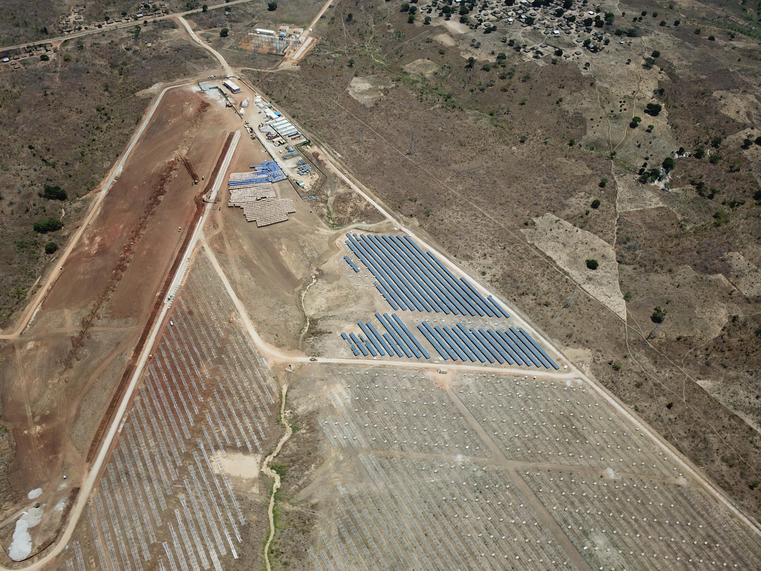Ministro da Energia de Moçambique visitou o Parque Fotovoltaico de Metoro